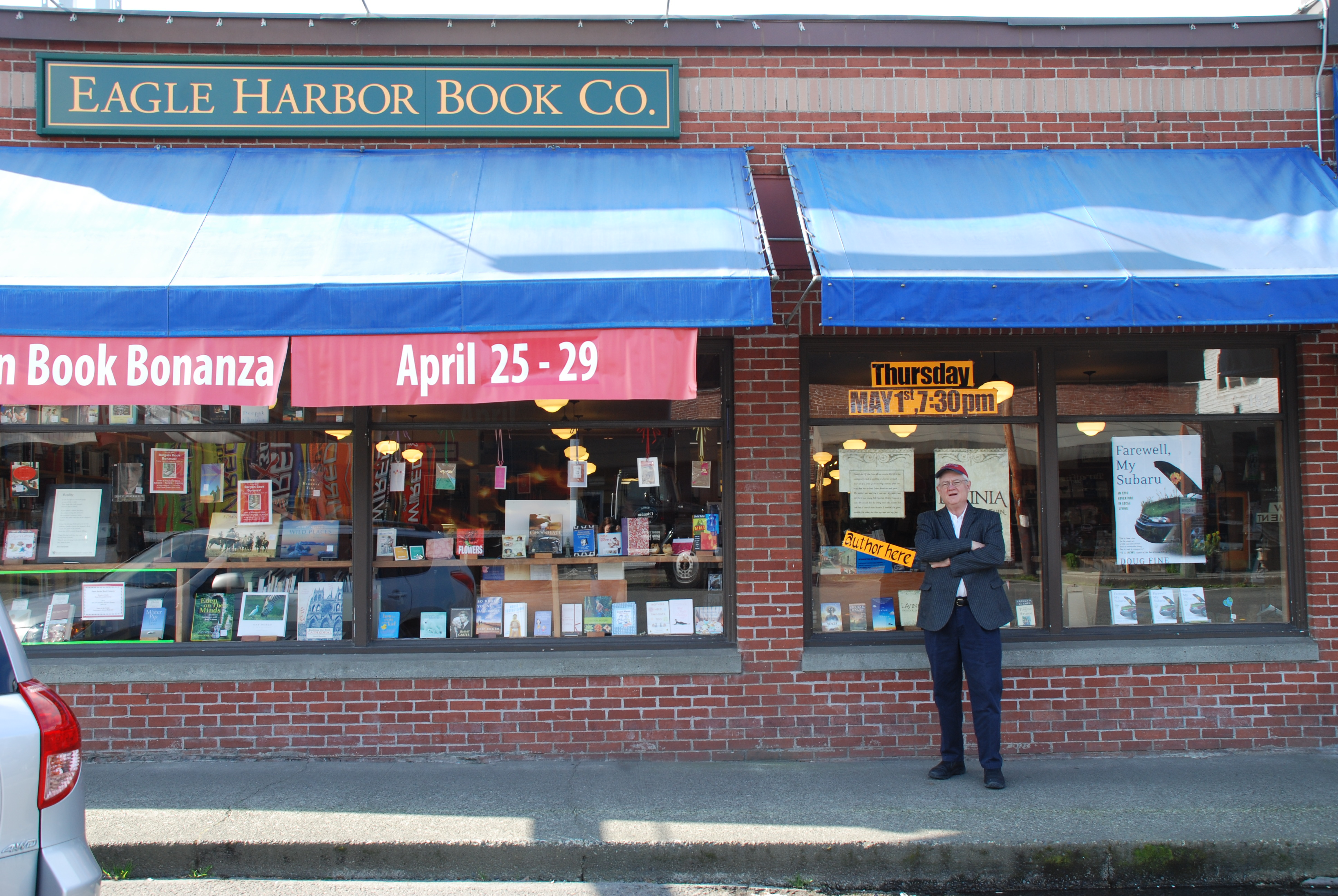 Roy Blount Jr wants you to buy books. Good plan.