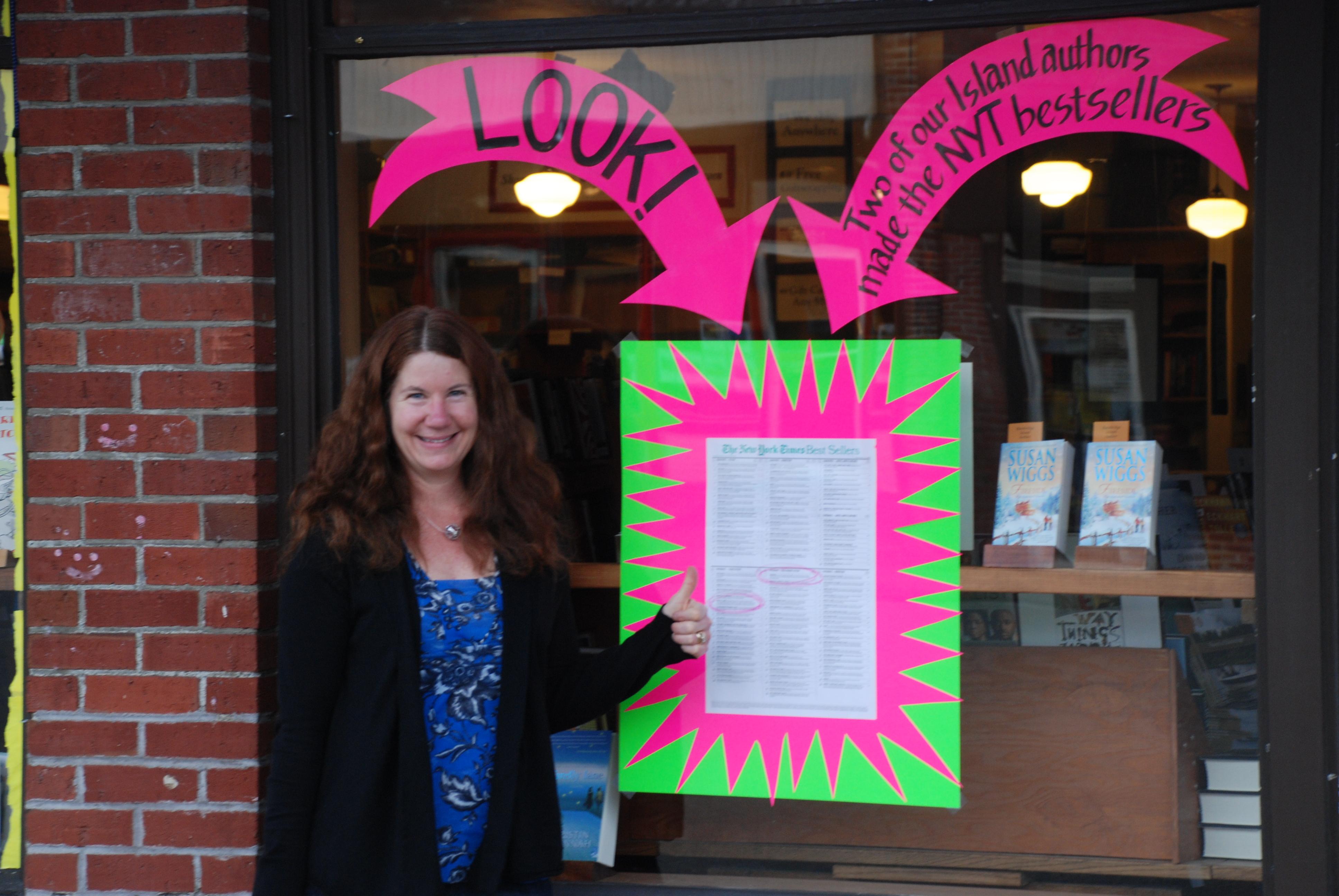 Eagle Harbor celebrates local authors.